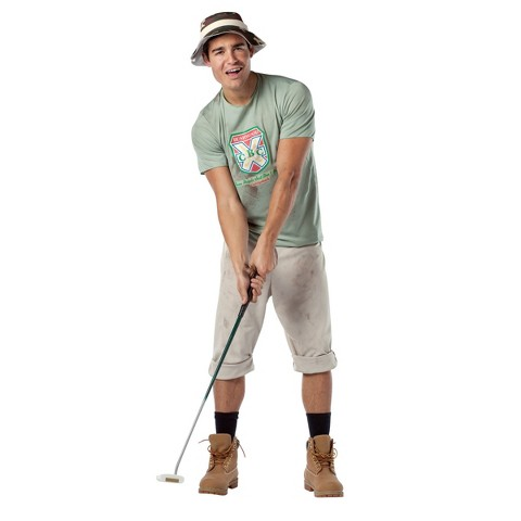 Men's Caddyshack Carl Spackler Costume - One Size Fits Most