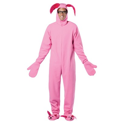 Men's A Christmas Story - Bunny Suit Costume - One Size Fits Most