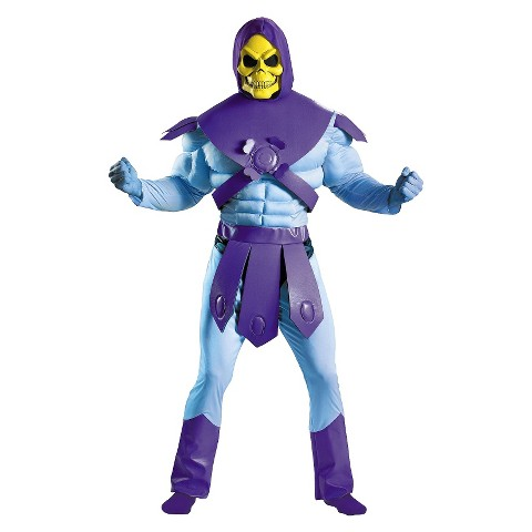 Men's Master of the Universe - Skeletor Costume - X-Large (42-46)