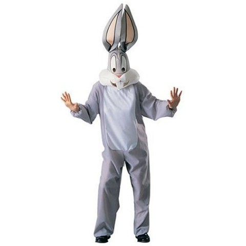 Men's Looney Tunes - Bugs Bunny Costume - One Size Fits Most