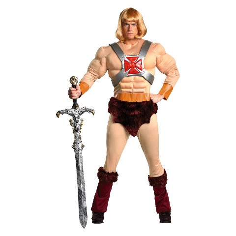 Men's Master of the Universe - He-Man Costume - X-Large (42-46)