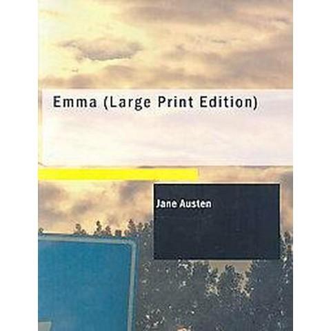 Emma (Large Print) (Paperback)