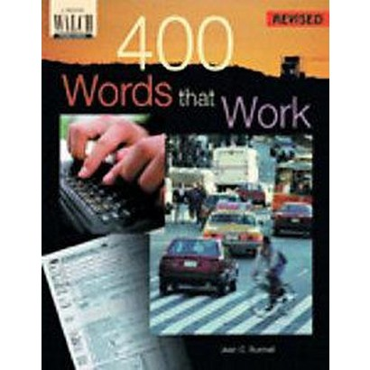 400 Words That Work (Revised, Teachers Guide) (Paperback)