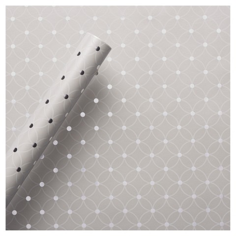 White Patterned Roll Wrap