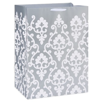 Silver Scroll Colossal Gift Bag - Spritz™