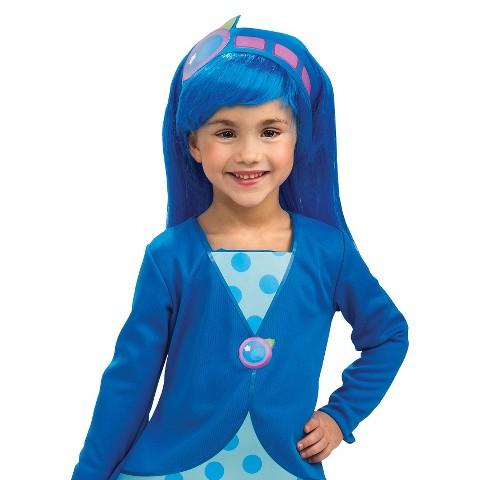 Kid's Strawberry Shortcake - Blueberry Muffin Wig