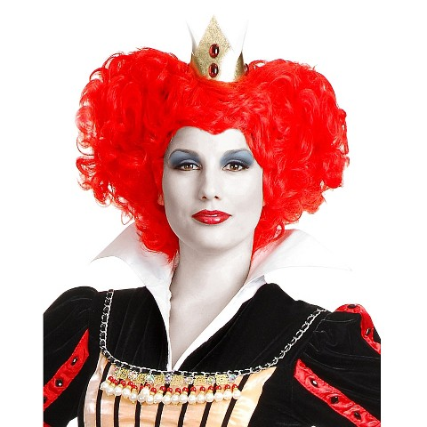 Women's Red Queen of Hearts Wig