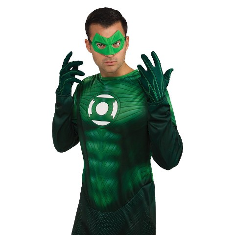 Adult Green Lantern - Gloves