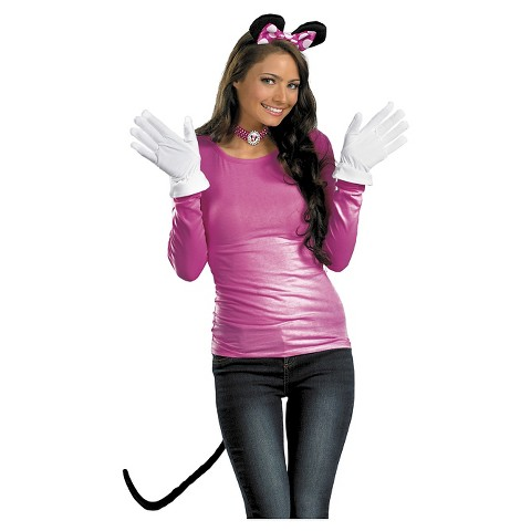 Women's Pink Minnie Mouse Costume