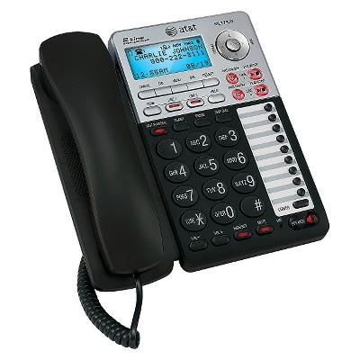 AT&T 2-Line Speakerphone Digital Answering - Black (ML17939)