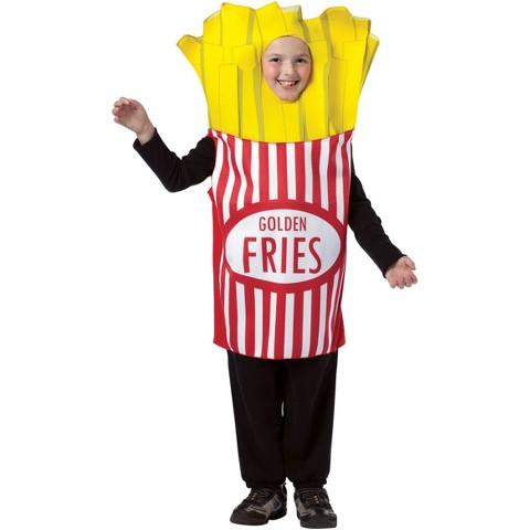 Kid's French Fries Costume - Medium