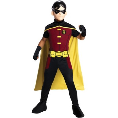 Image of Boy's Young Justice - Robin Costume