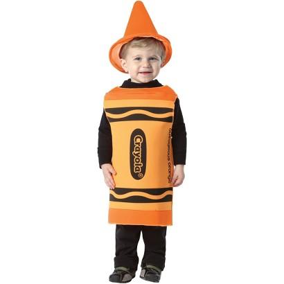 Toddler Crayola - Outrageous Orange Crayon Costume