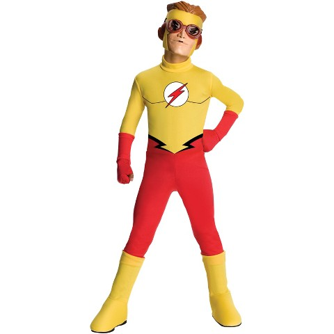 Boy's Young Justice Flash Costume