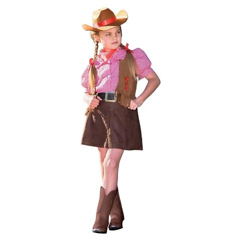 Girl's Gunslinger Costume