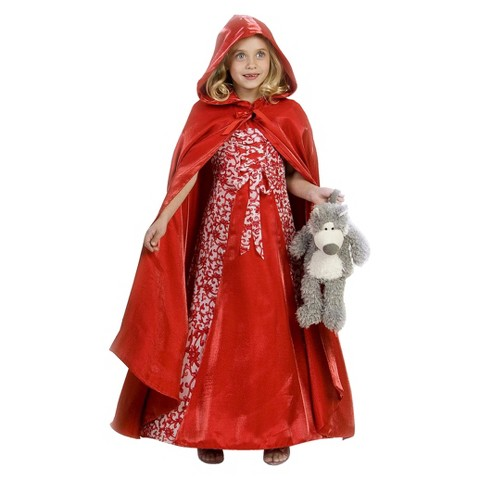 Girl's Princess Red Riding Hood Costume