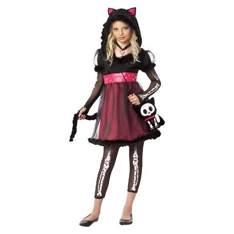 Girl's Kit the Kat Costume