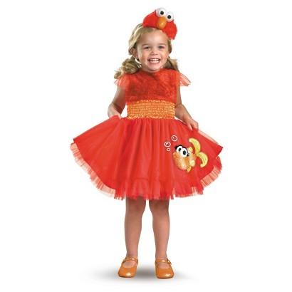 Infant Girl Sesame Street Frilly Elmo Costume 12-18 Months