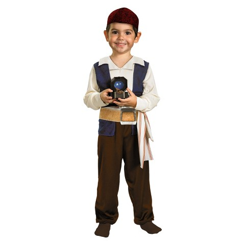 Infant/Toddler Pirates of the Caribbean 4 - Captain Jack Sparrow Costume