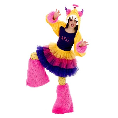 Girl's Aarg Monster Tween Costume - One Size Fits most