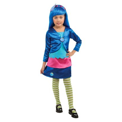Image of Toddler Strawberry Shortcake - Blueberry Muffin Deluxe Costume