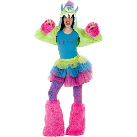 Girl's Uggsy Monster Tween Costume - One Size Fits Most
