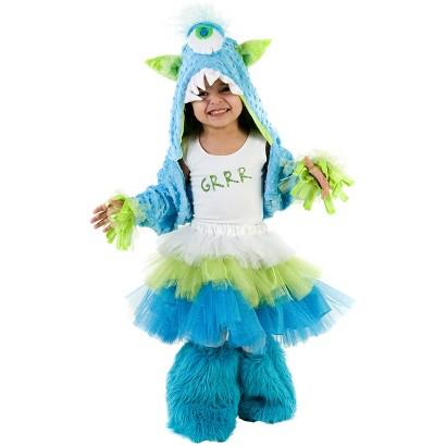 Girl's Grrr Monster Costume