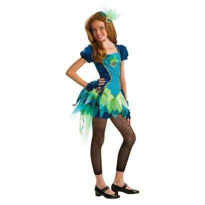 Girl's Peacock Tween Costume