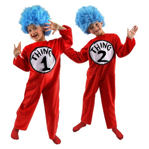 Dr. Seuss Kid's Thing 1 and 2 Costume
