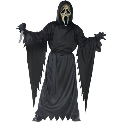 Boy's Scream 4 Zombie Ghost Face Costume - One Size (Up to Size 12)