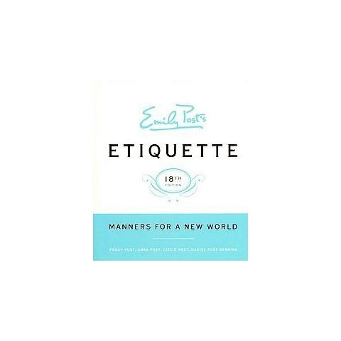 Emily Post's Etiquette (Hardcover)