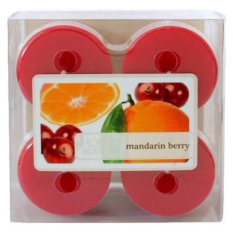 Threshold™ Mandarin Berry Wax Votive Candle 4-pk.