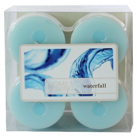 Threshold™ Waterfall Hand-Poured Wax Votive Candle 4-pk.