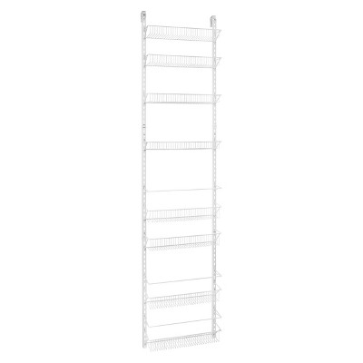 ClosetMaid 8-Tier Over-the-Door Adjustable Wire Rack - White