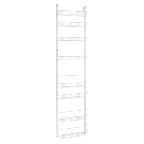ClosetMaid 8-Tier Adjustable Door Rack