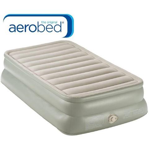 AeroBed Twin Double High Air Mattress Tar