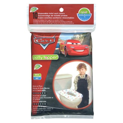 Disney Cars 40 Count  Eco Potty Topper