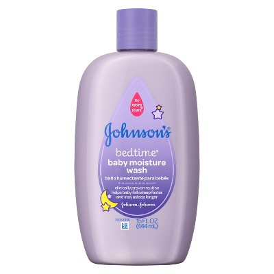 JOHNSON & JOHNSON Baby Bedtime Wash - 15 fl oz.