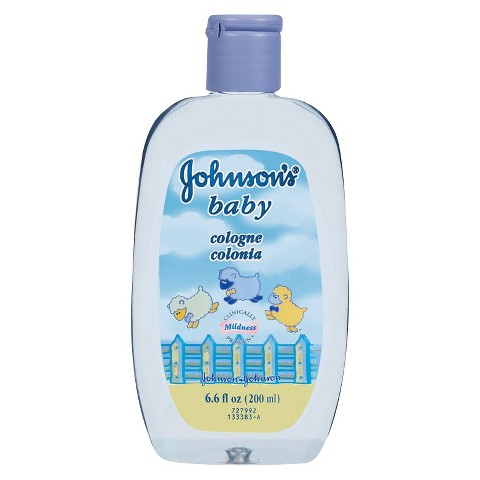 JOHNSON & JOHNSON Baby Cologne 6.6 fl oz.