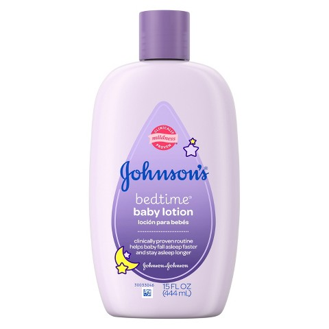 Johnson's Bedtime Baby Lotion  - 15 oz.