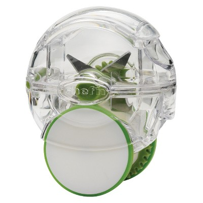 Chefn Vibe Garlic Chopper, Green/White