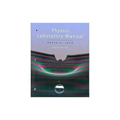 Physics Laboratory Manual (Lab Manual) (Paperback)