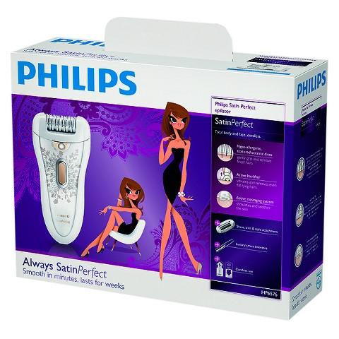 Philips HP6576/50 Satin Perfect Deluxe Epilator