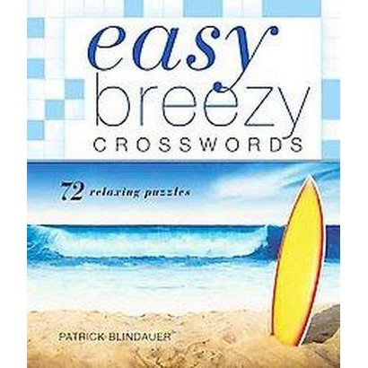 Easy Breezy Crosswords (Paperback)