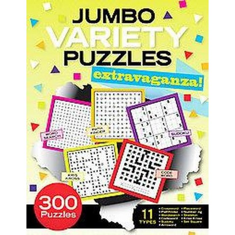 Jumbo Variety Puzzles Extravaganza (Paperback)