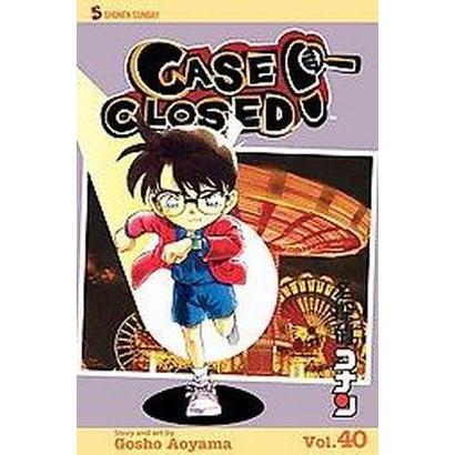 Case Closed 40 (Paperback)