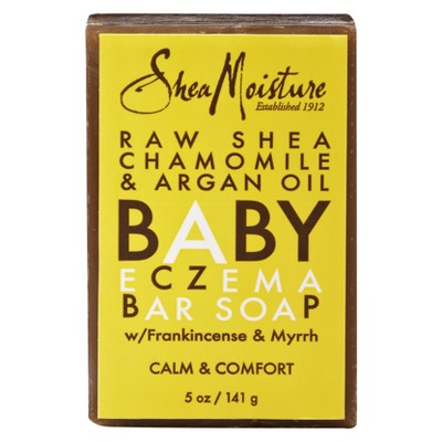 SheaMoisture Raw Shea Chamomile & Argan Oil Baby Eczema Bar Soap - 5 oz