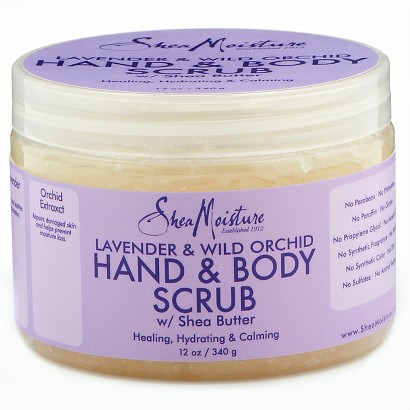 SheaMoisture Lavender & Wild Orchid Hand & Body Scrub - 12 oz