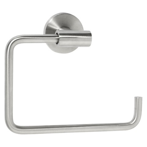 Amerock  Stainless Steel  Towel Ring