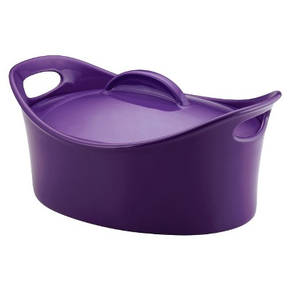 Rachael Ray Oval Casserole with Lid